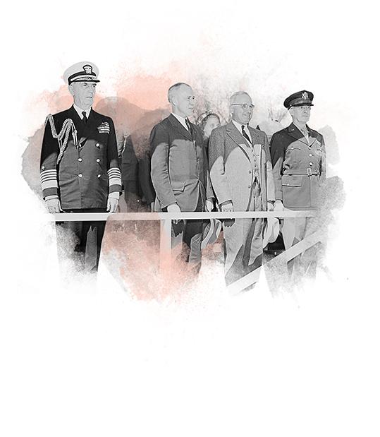 President Truman attend Army Day parade for Taft-Hartley Anti Labor Legislation